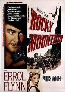 poster Rocky Mountain (1950)