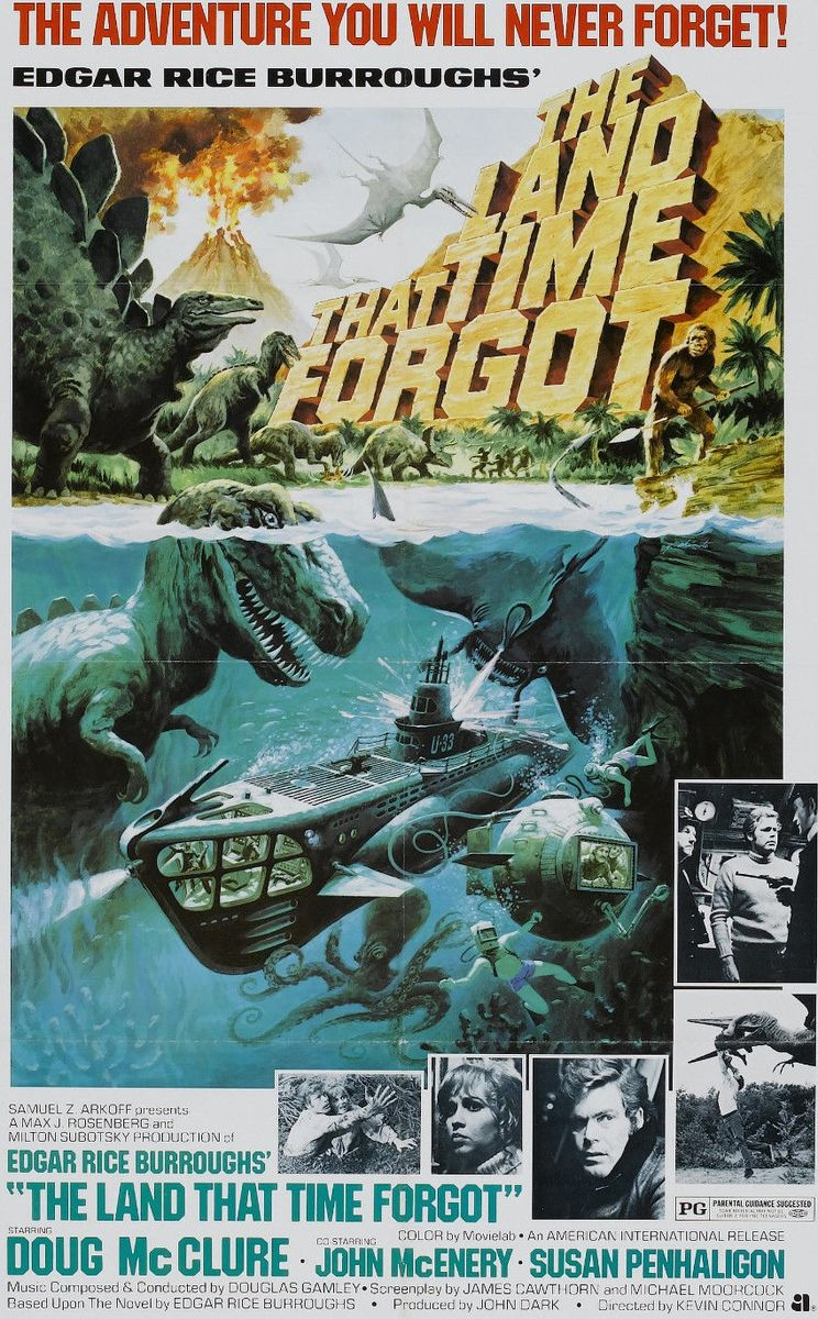 poster The Land That Time Forgot (1974)