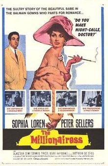 poster The Millionairess (1960)