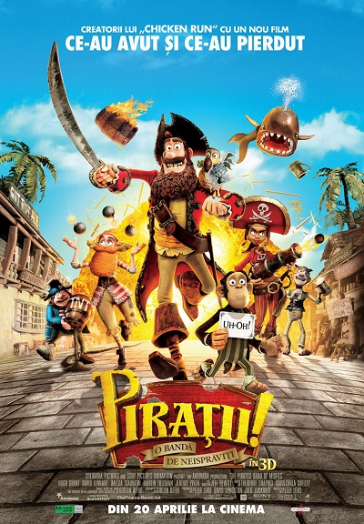 poster The Pirates! Band of Misfits (2012)