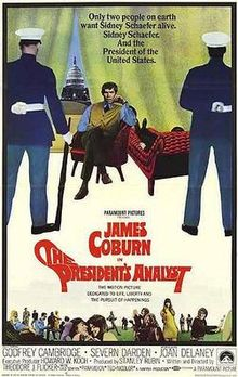 poster The President's Analyst (1967)