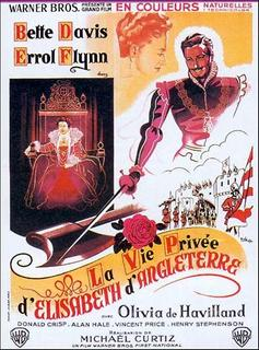 poster The Private Lives of Elizabeth and Essex (1939)