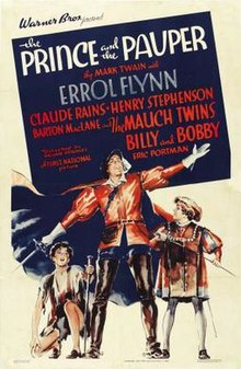 poster The prince and the pauper (1937)