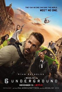 poster 6 Underground (2019)
