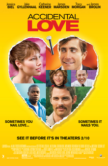 poster Accidental Love (2015)