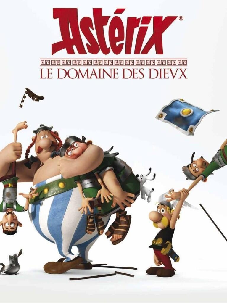 poster Asterix Le domaine des dieux (2014)