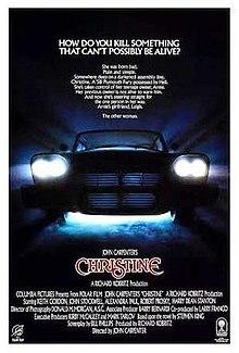 poster Christine (1983)