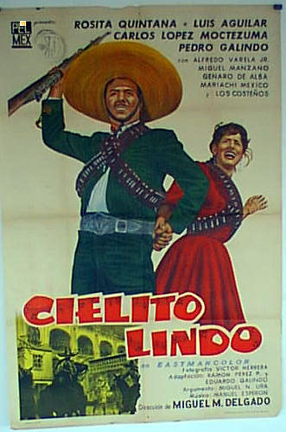 poster Cielito Lindo (1957)