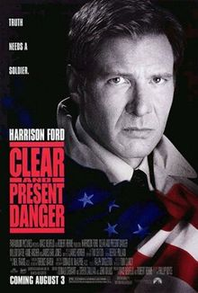 poster Clear and Present Danger (1994)