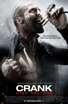 poster Crank High Voltage (2009)