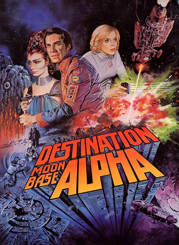 poster Destination Moonbase-Alpha (1978)