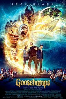 poster Goosebumps (2015)