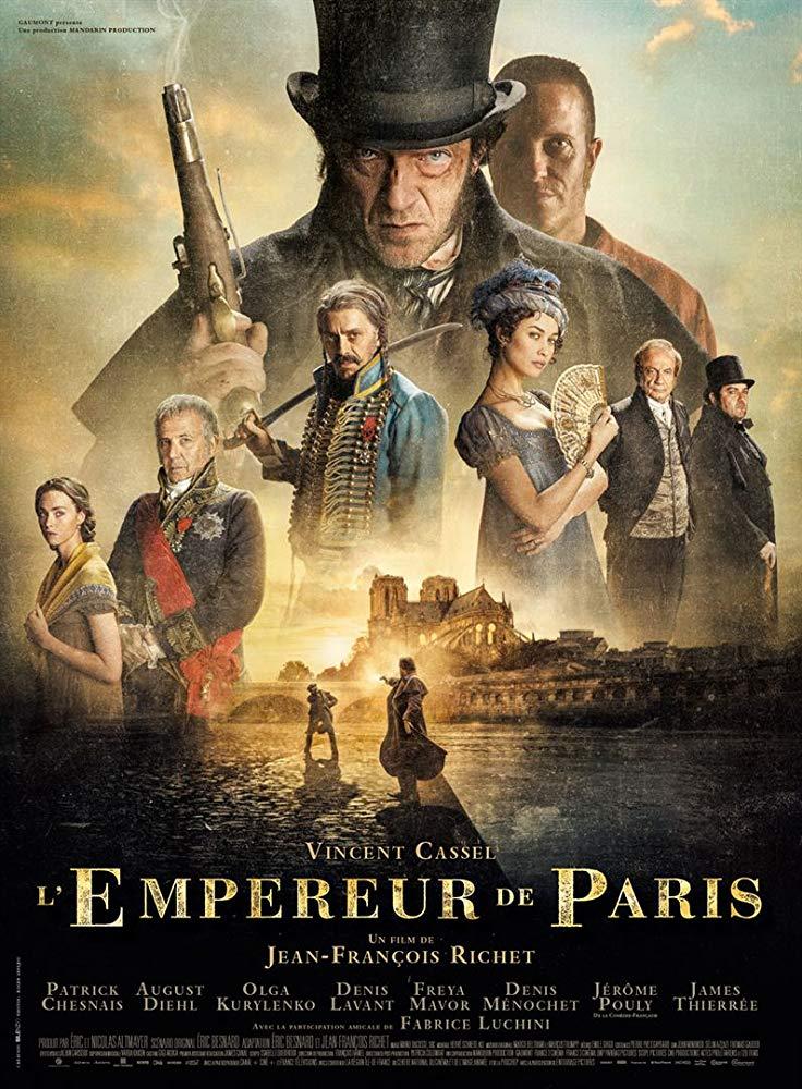 poster L'Empereur de Paris (2018)