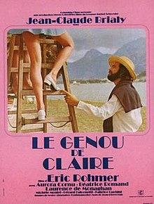 poster Le Genou de Claire (1970)