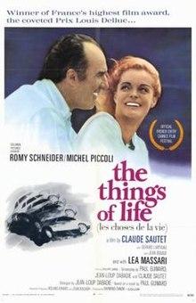 poster Les choses de la vie (1970)