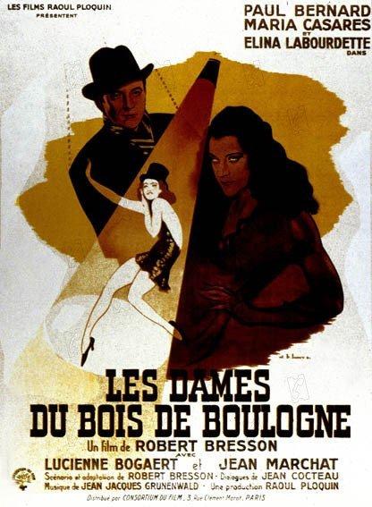 poster Les dames du bois de Boulogne (1945)