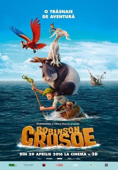 poster Robinson Crusoe (2016)