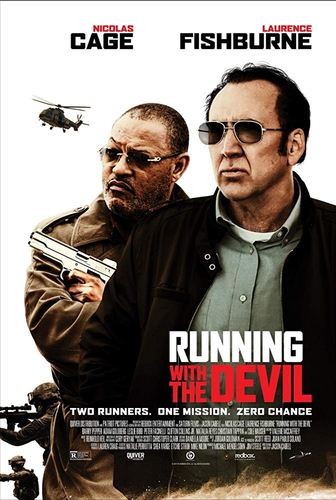poster Running with the Devil (2019)