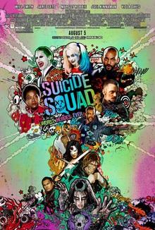 poster Suicide Squad (2016)