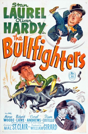 poster The Bullfighters (1945)
