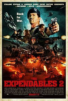 poster The Expendables 2 (2012)