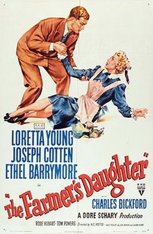 poster The Farmer's Daughter (1947)