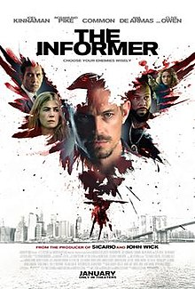 poster The Informer (2019)