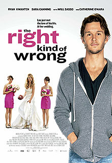 poster The Right Kind of Wrong (2013)
