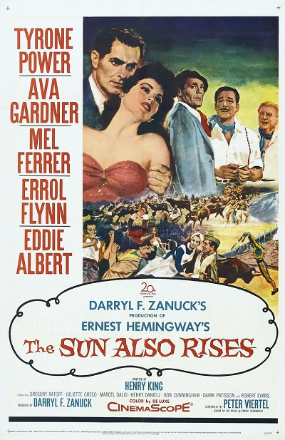 poster The Sun Also Rises (1957)