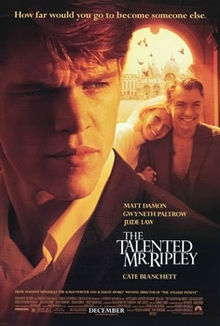 poster The Talented Mr. Ripley (1999)