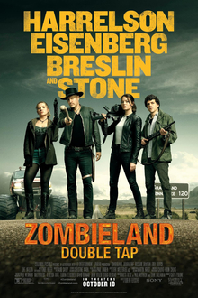 poster Zombieland Double Tap (2019)