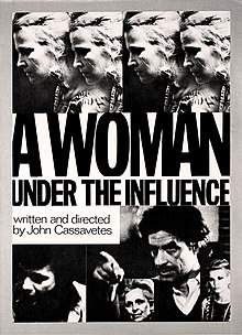 poster A Woman Under the Influence (1974)