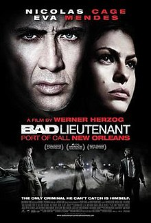 poster Bad Lieutenant Port of Call New Orleans (2009)