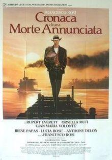 poster Cronaca di una morte annunciata (1987)