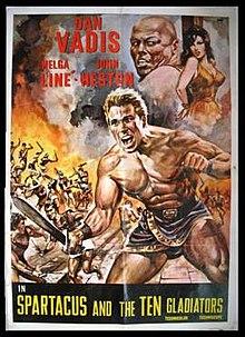 poster Gli invincibili dieci gladiatori (1964)