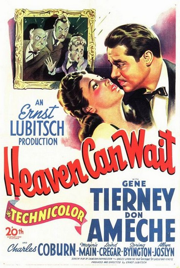 poster Heaven Can Wait (1943)