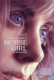 poster Horse Girl (2020)