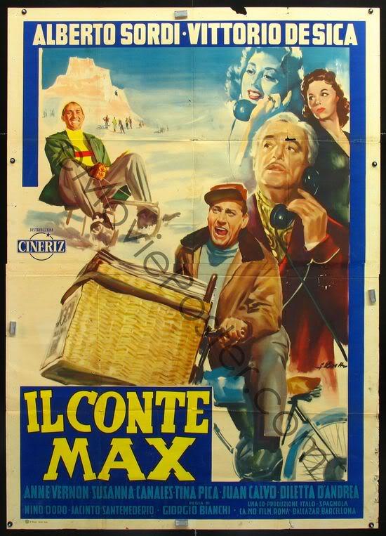 poster Il conte Max (Count Max) (1957)