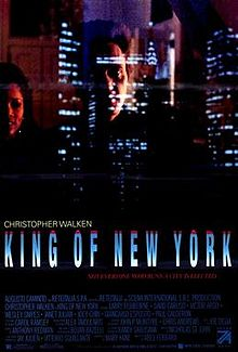 poster King of New York (1990)