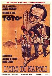 poster L'oro di Napoli (1954)