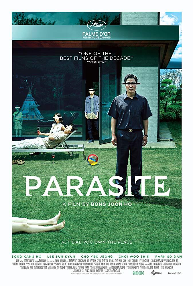 poster Parasite (Gisaengchung) (2019)