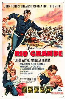 poster Rio Grande (1950)