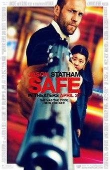 poster Safe (2012)