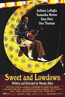 poster Sweet and Lowdown (1999)