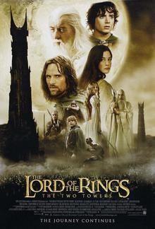 poster The Lord of the Rings The Two Towers (2002)