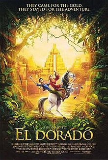 poster The Road to El Dorado (2000)