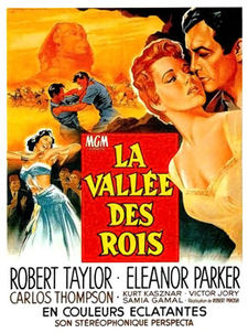 poster Valley of the Kings (1954)