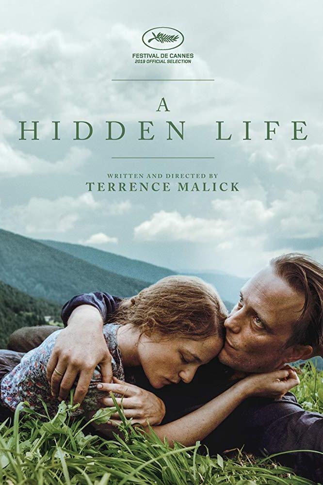 poster A Hidden Life (2019)