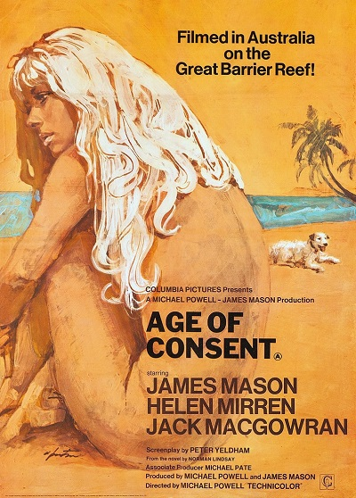 poster Age of Consent (1969)