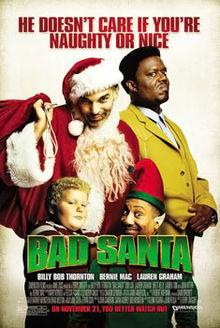 poster Bad Santa (2003)